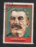 Sellos del Mundo : Asia : Emiratos_Árabes_Unidos :  Ajman - Joseph Stalin