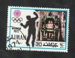 Stamps United Arab Emirates -  Ajman - 119 - Olimpiadas Munich 72