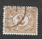 Sellos de Europa - Holanda -  59- Cifra