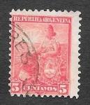 Stamps Argentina -  127 - Alegoría