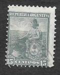 Sellos de America - Argentina -  132 - Alegoría