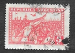 Sellos de America - Argentina -  379 - Revolución de 1930