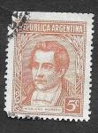 Sellos de America - Argentina -  424 - Mariano Moreno