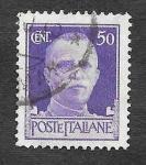 Sellos de Europa - Italia -  221 - Víctor Manuel III de Italia