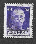 Stamps : Europe : Italy :  221 - Víctor Manuel III de Italia