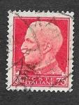 Stamps : Europe : Italy :  222 - Víctor Manuel III de Italia