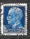 Stamps : Europe : Italy :  223 - Víctor Manuel III de Italia