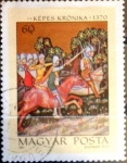 Sellos del Mundo : Europa : Hungría : 2186 - Expulsión del rey Pedro por Samuel Alba