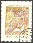 Sellos del Mundo : Europa : Hungría : 2187 - Victoria de Basarad sobre el ejército del rey Charles Robert