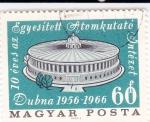 Sellos del Mundo : Europa : Hungría : .10 ANIVERSARIO EDIFICIO INVESTIGACIÓN NUCLEAR EN DUBNA 1956-1966
