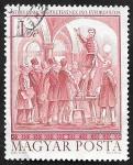 Sellos del Mundo : Europa : Hungría : 2285 - 150 Anivº del nacimiento de Sandor Petofi, poeta