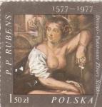 Sellos del Mundo : Europa : Polonia : PINTURA- RUBENS
