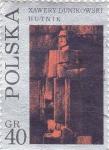 Sellos del Mundo : Europa : Polonia : XAWERY DUNIKOWSKI- escultor