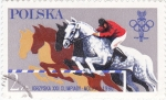 Stamps : Europe : Poland :  OLIMPIADA MOSCU-80
