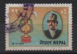 Stamps : Asia : Nepal :  39th  ANIVERSARIO  DEL  REY  BIRENDRA