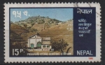 Stamps Asia - Nepal -  75th  ANIVERSARIO  DE  LA  ESTACIÓN  HIDROELÉCTRICA  PHARPING