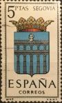 Sellos del Mundo : Europa : España : Escudos de Capitales de Provinciasde España: Segovia