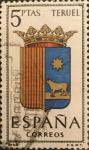 Sellos del Mundo : Europa : España : Escudos de Capitales de Provincias de España: Teruel