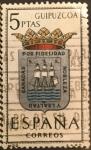 Sellos del Mundo : Europa : España : Escudos de Capitales de Provincias de España: Guipuzcoa