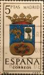 Sellos del Mundo : Europa : España : Escudos de Capitales de Provincias de España:Madrid