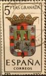 Sellos del Mundo : Europa : España : Escudos de Capitales de Provincias de España: Granada