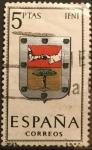 Sellos del Mundo : Europa : España : Escudos de Capitales de Provincias de España:IFNI