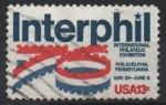 Stamps : America : United_States :  EXHIBICIÓN  INTERNACIONAl  DE  FILATELIA