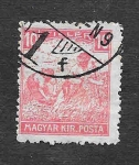 Sellos de Europa - Hungría -  106 - Cosechando Trigo