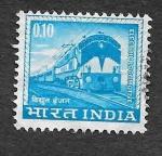 Sellos de Asia - India -  411 - Locomotora Eléctrica