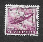 Stamps India -  413 - Avión