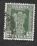 Stamps India -  O142 - Pilar de Ashoka