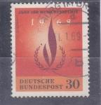 Stamps Germany -  AÑO DE LOS DERECHOS HUMANOS