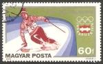 Stamps Hungary -  2473 - Olimpiadas de invierno de Innsbruck