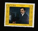 Sellos de America - Cuba -  retrato de rodríguez Morey