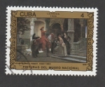 Sellos de America - Cuba -  Obras arte museo Nacional