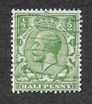 Stamps United Kingdom -  159 - Jorge V del Reino Unido
