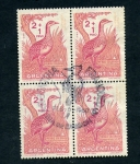 sellos de America - Argentina -  Perdiz Colorada