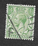 Stamps United Kingdom -  159 - Jorge V del Reino Unido
