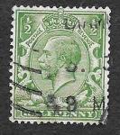 Sellos del Mundo : Europa : Reino_Unido : 159 - Jorge V del Reino Unido