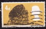 Stamps United Kingdom -  RADIOTELESCÓPIO