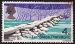 Stamps United Kingdom -  Tarr Steps, Prehistóric