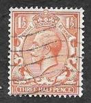 Stamps United Kingdom -  161 - Jorge V del Reino Unido