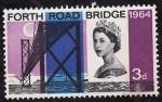 Stamps United Kingdom -  Forth Road Bridge-1964