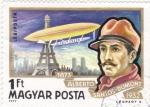 Sellos del Mundo : Europa : Hungría : 402 - Alberto Santos Dumont