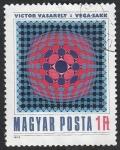 Sellos del Mundo : Europa : Hungría : 2689 - Victor Vasarely, pintor francés