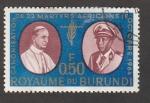 Stamps Burundi -  Canonización 22 mártires africanod