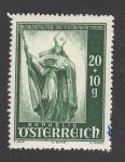 Sellos de Europa - Austria -  Reconstrucción catedral Salzburgo