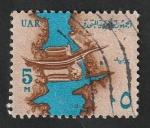 Sellos del Mundo : Africa : Egipto : 582 - Canal del Nilo