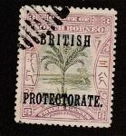 Stamps Malaysia -  Palmera (prottordo británico)