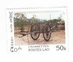 de Asia - Laos -  Carretas